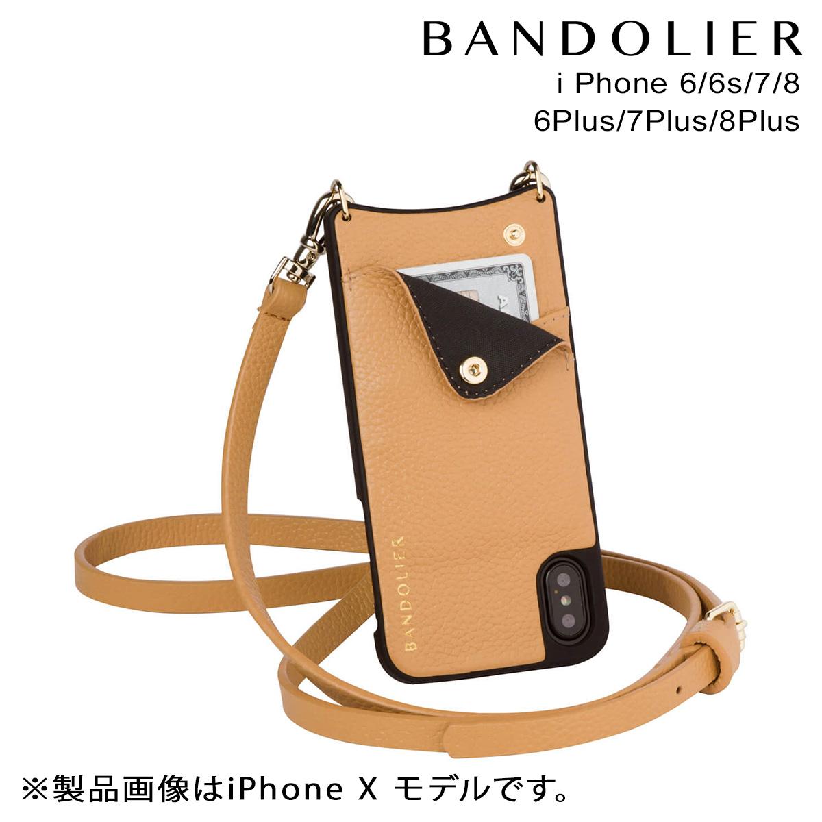バンドリヤー BANDOLIER iPhone8 iPhone7 7Plus 6s ケース スマホ アイフォン プラス EMMA GOLDENROD メンズ レディース [9/19 新入荷]