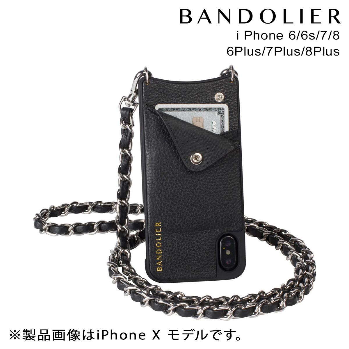 バンドリヤー BANDOLIER iPhone8 iPhone7 7Plus 6s ケース スマホ アイフォン プラス LUCY SILVER メンズ レディース