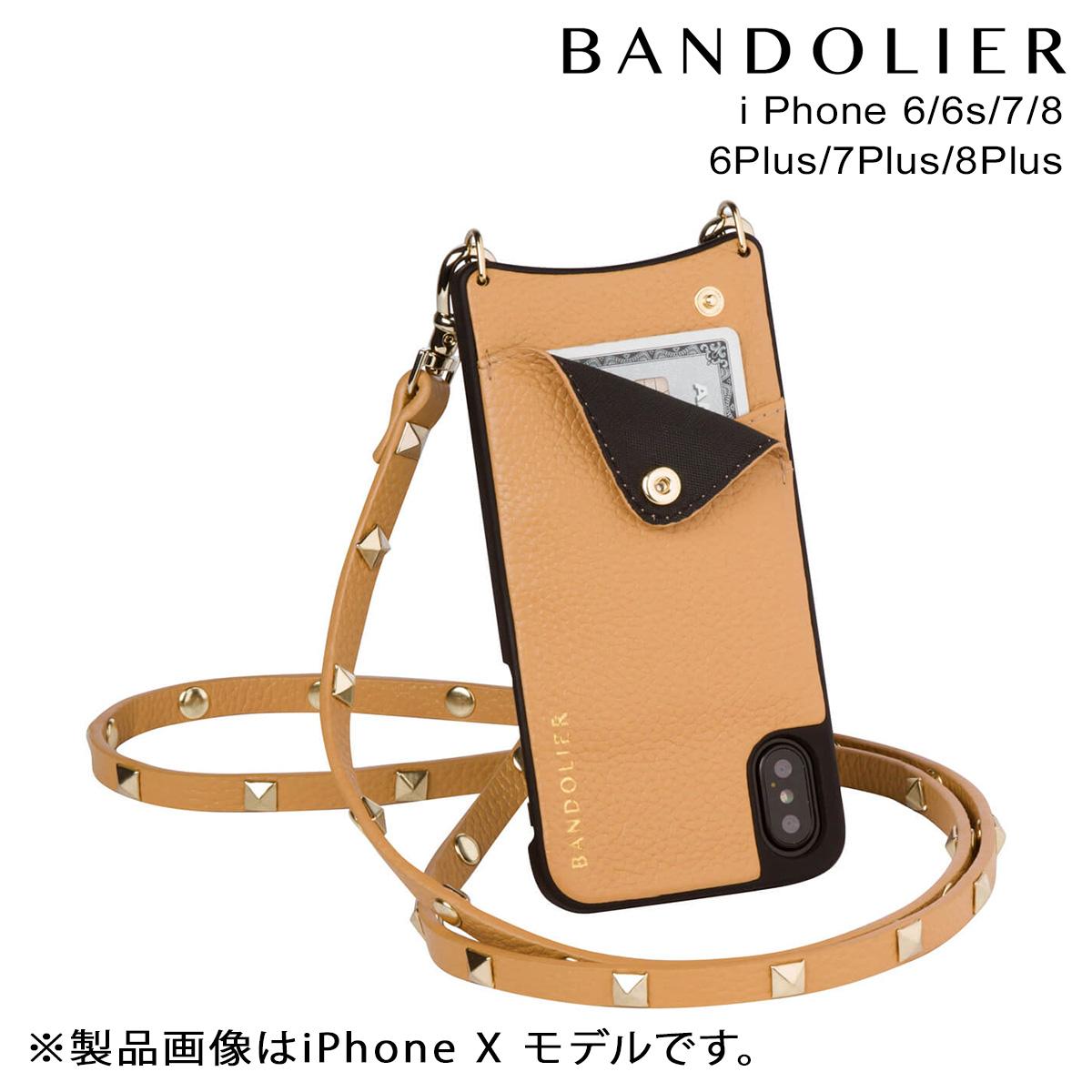 バンドリヤー BANDOLIER iPhone8 iPhone7 7Plus 6s ケース スマホ アイフォン プラス SARAH GOLDENROD メンズ レディース [9/19 新入荷]