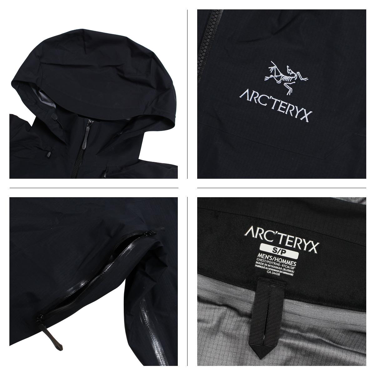 アークテリクス ARCTERYX ジャケット ベータ メンズ BETA AR JACKET ブラック ネイビー 黒 21782kXuZPi