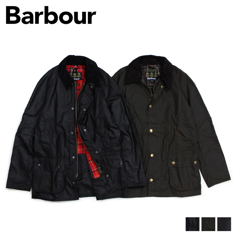バブアー Barbour ジャケット メンズ アシュビー ワックスド ASHBY WAXED JACKET ブラック 黒 オリーブ MWX0339