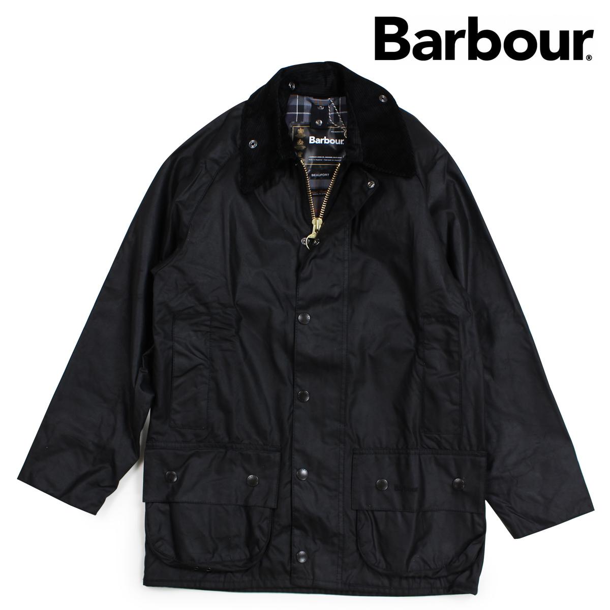 バブアー Barbour ジャケット ワックス メンズ ビューフォート BEAUFORT JACKET ブラック MWX0017 [9/28 新入荷]