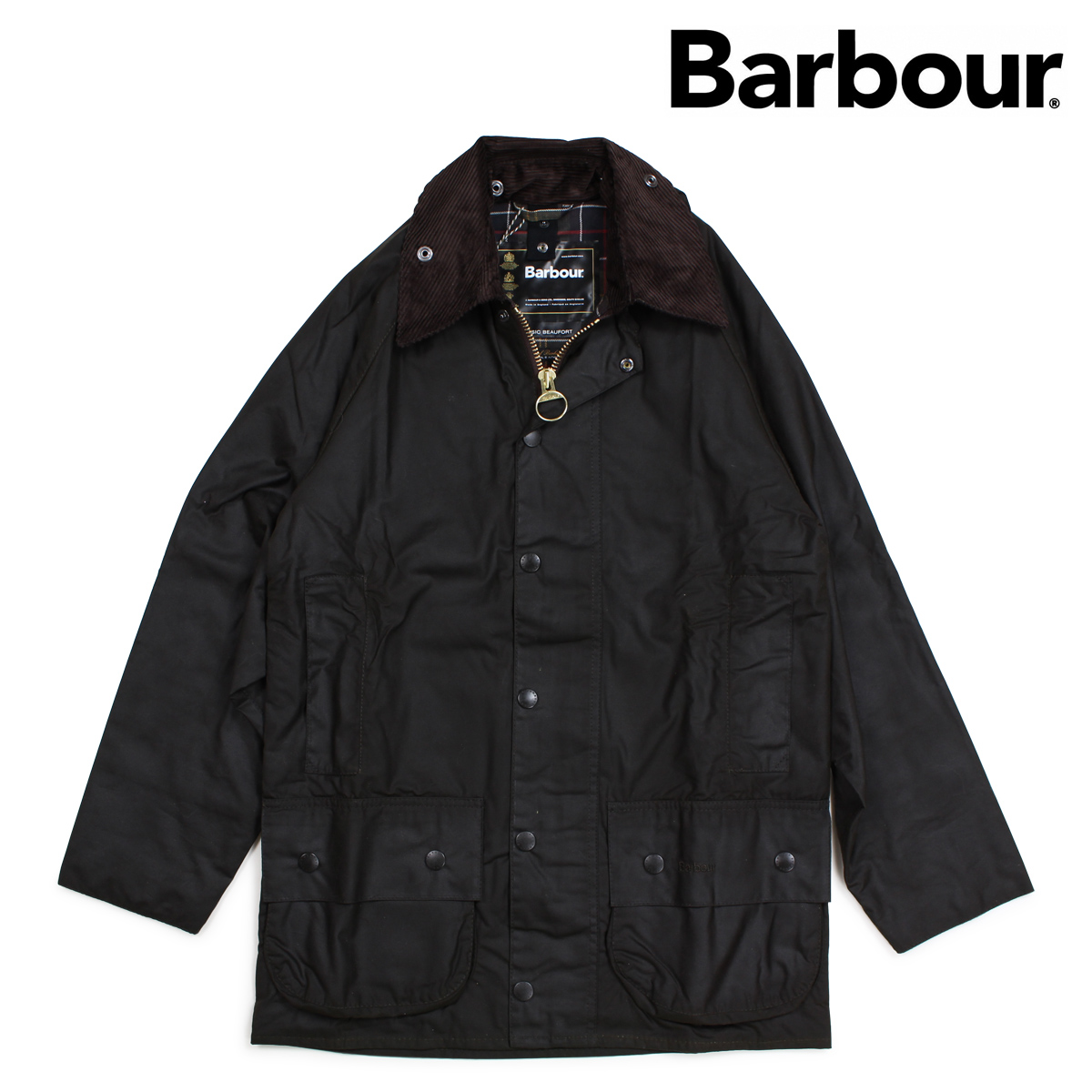 バブアー Barbour ジャケット ワックス メンズ クラシック ビューフォート CLASSIC BEAUFORT WAXED JACKET オリーブ MWX0002 [9/28 新入荷]