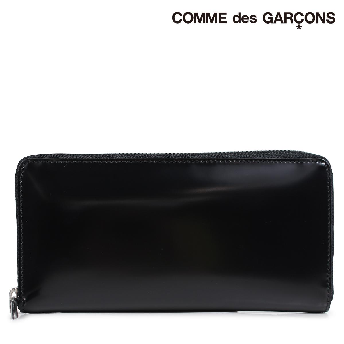 COMME des GARCONS 財布 メンズ レディース 長財布 ラウンドファスナー コムデギャルソン SA0110MI ブラック [9/11 新入荷]