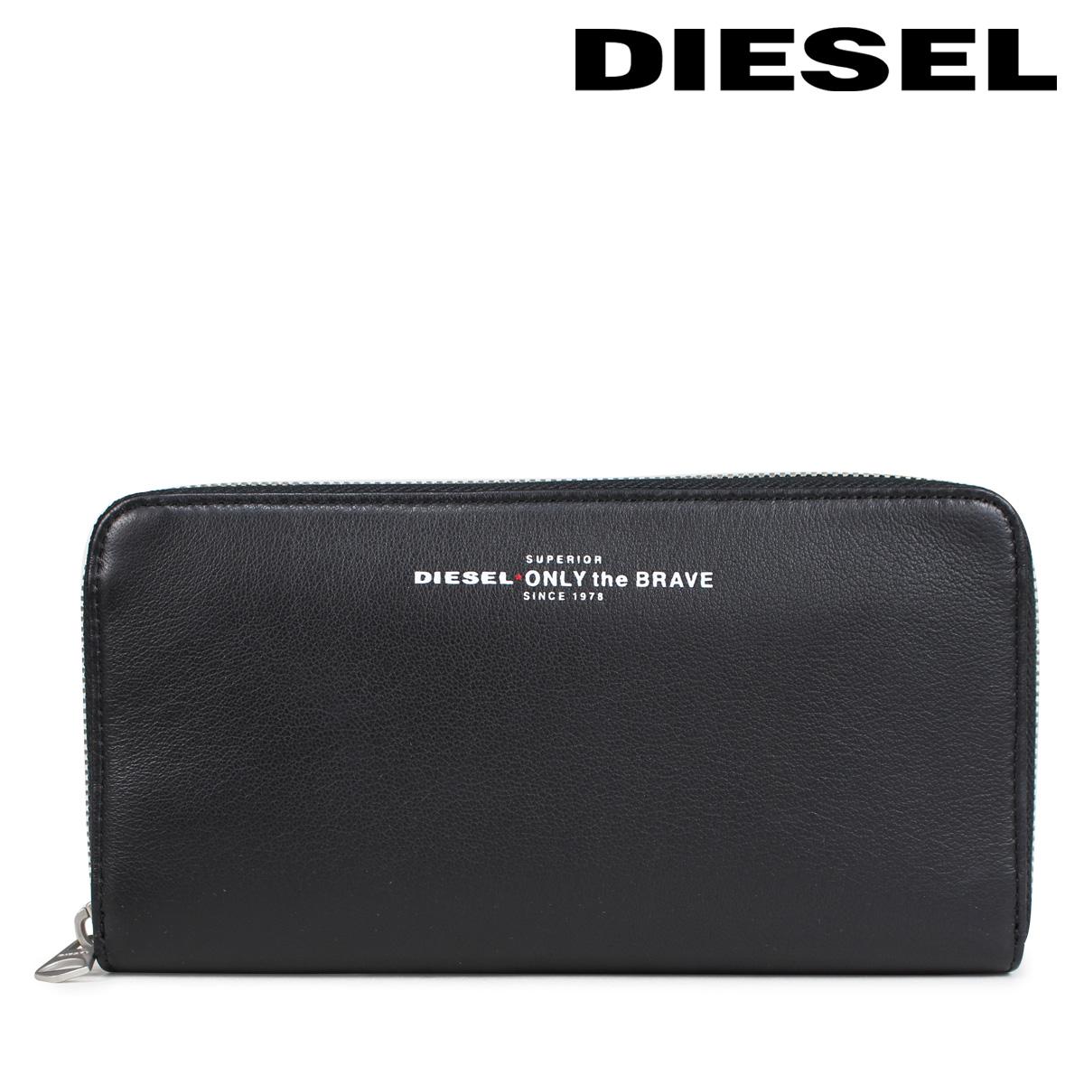 b30c8f1d73c9 DIESEL wallet diesel men long wallet round fastener READY TO STAR 24 ZIP  X05591 PR400 H2691 black  10 12 Shinnyu load