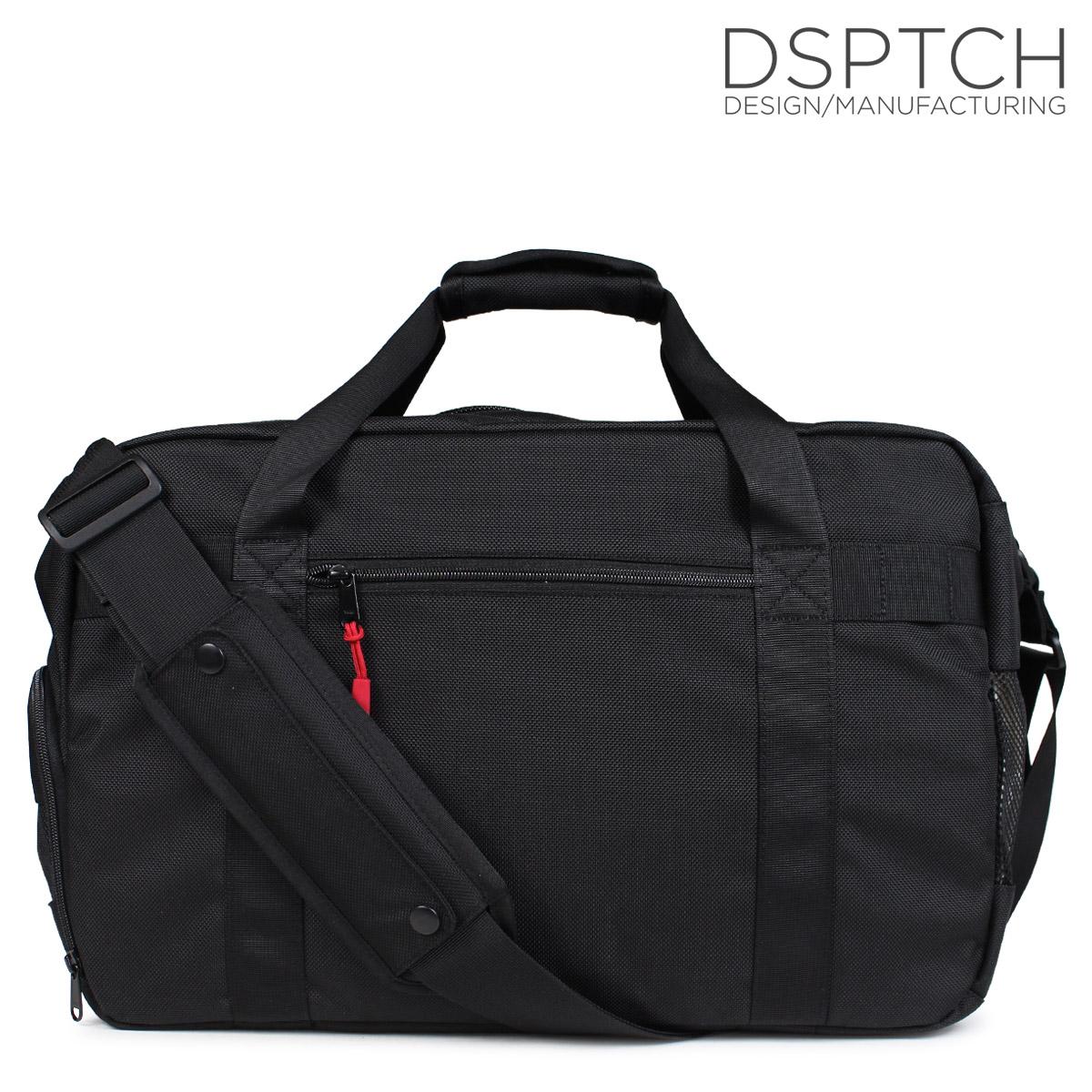 DSPTCH ディスパッチ バッグ ジムバッグ メンズ レディース GYM WORK BAG 23L ブラック 黒 PCK-GW