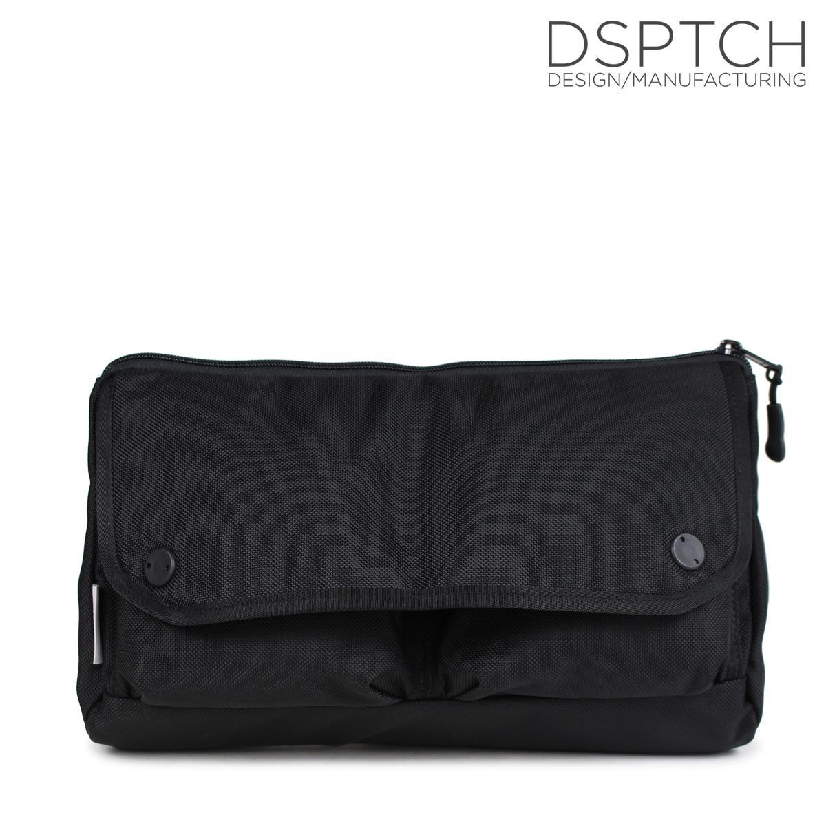 DSPTCH ディスパッチ バッグ ウエストバッグ ワンショルダー WAIST BAG 8L メンズ レディース ブラック PCK-WB [10/9 新入荷]