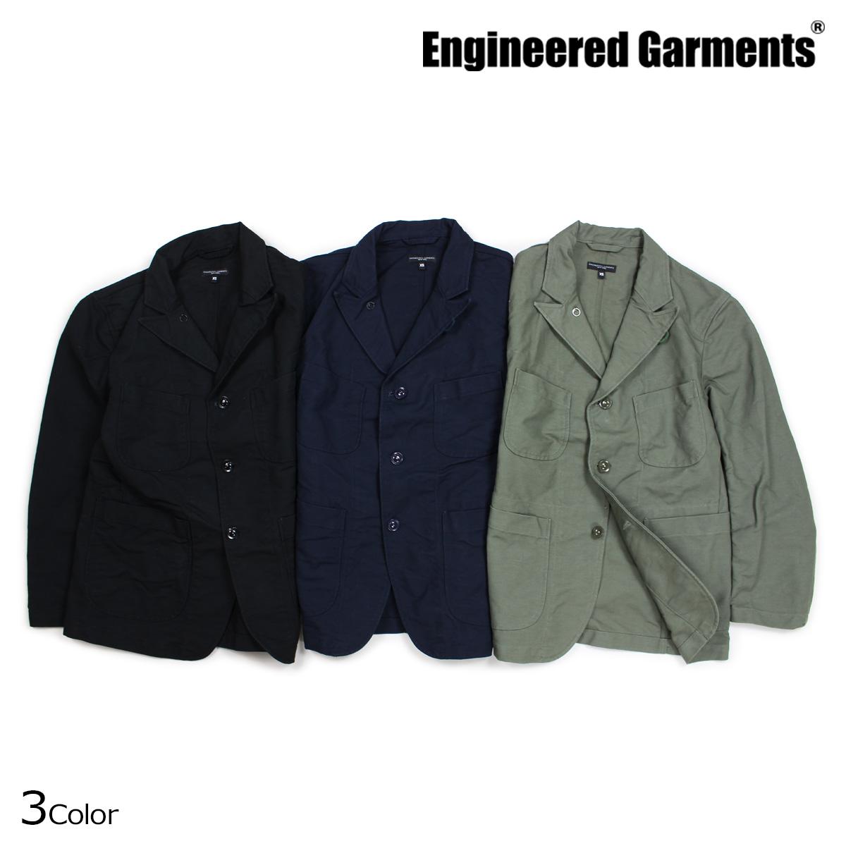 ENGINEERED GARMENTS エンジニアドガーメンツ ジャケット メンズ ベッドフォード BEDFORD JACKET ブラック ダークネイビー オリーブ [10/4 新入荷]