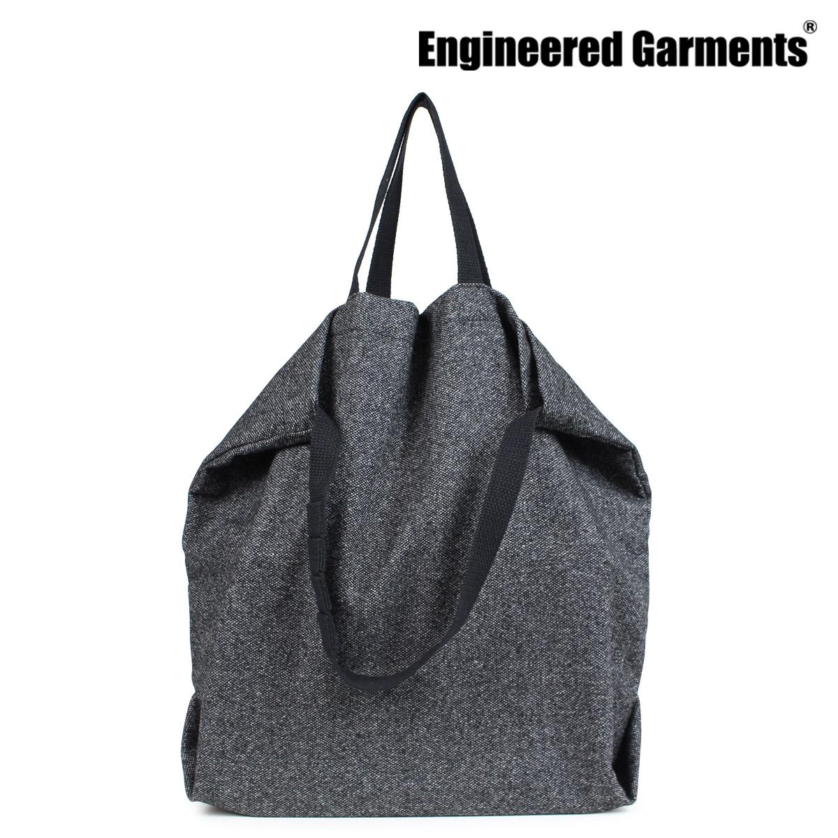 ENGINEERED GARMENTS エンジニアドガーメンツ バッグ メンズ レディース トートバッグ ショルダー CARRY ALL TOTE W STRAP グレー [10/4 新入荷]