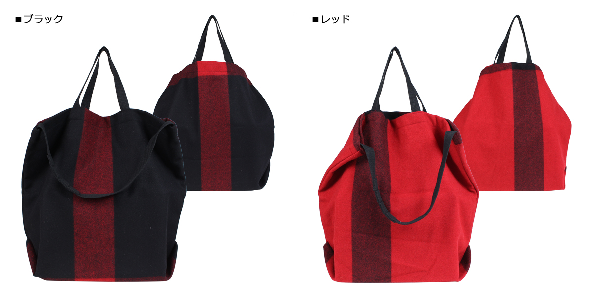 acee41b2a6 ENGINEERED GARMENTS engineered garfish face bag men gap Dis tote bag  shoulder CARRY ALL TOTE W STRAP black red  10 4 Shinnyu load