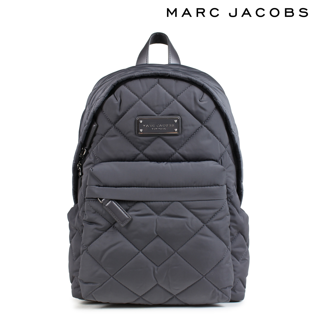 MARC JACOBS マークジェイコブス バッグ リュック レディース バックパック QUILTED BACKPACK ダークグレー M0011321 [9/19 新入荷]