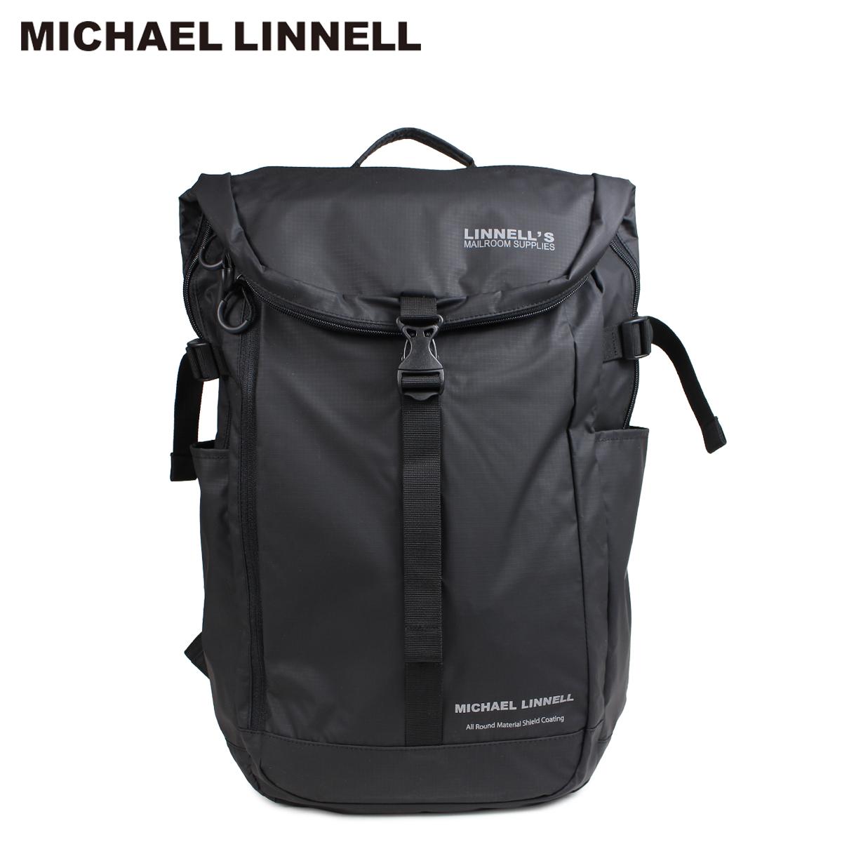 MICHAEL LINNELL マイケルリンネル リュック バッグ 31L メンズ レディース バックパック BACKPACK ブラック MLAC-04