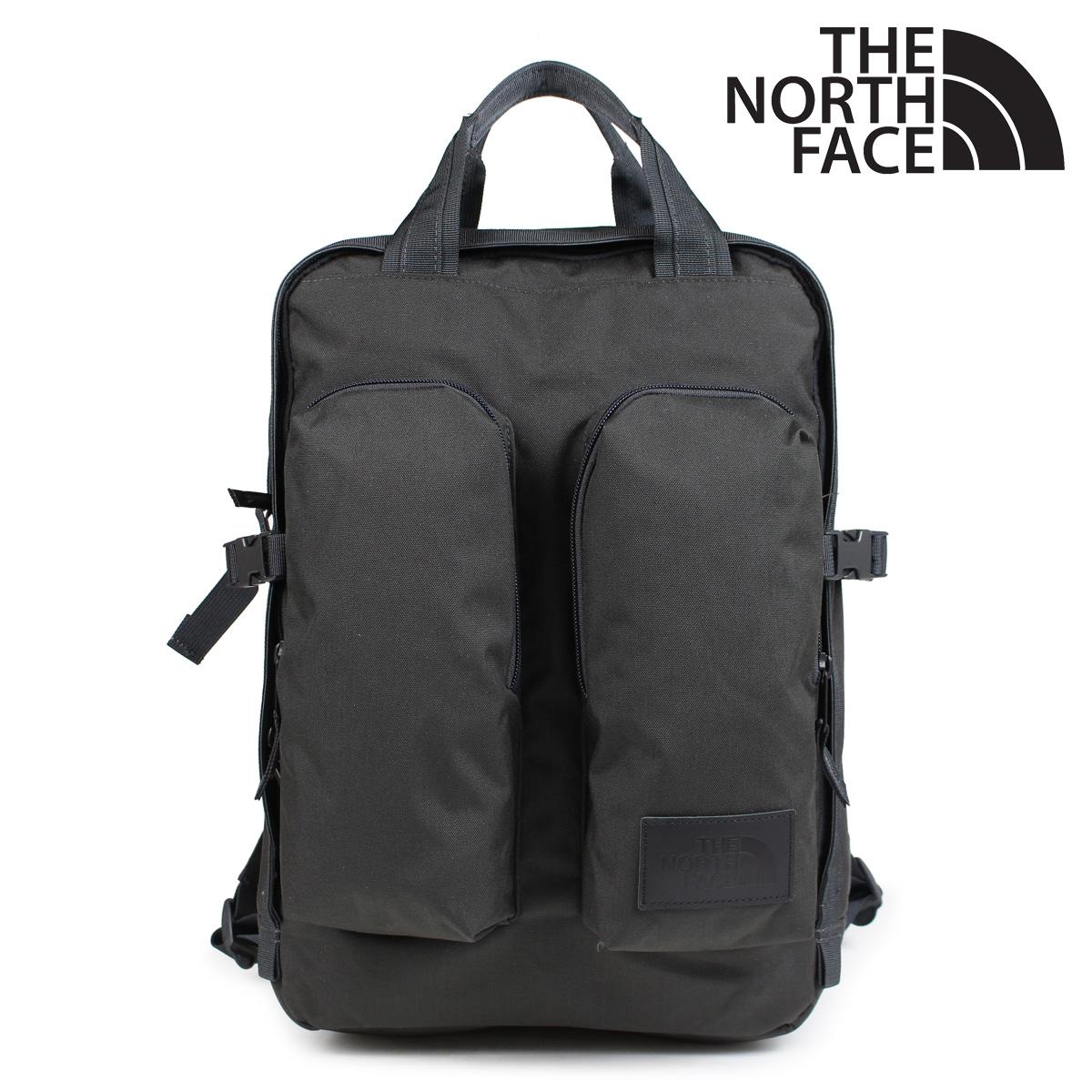 THE NORTH FACE ノースフェイス リュック メンズ バックパック MINI CREVASSE T93G8LMN1 ダークグレー