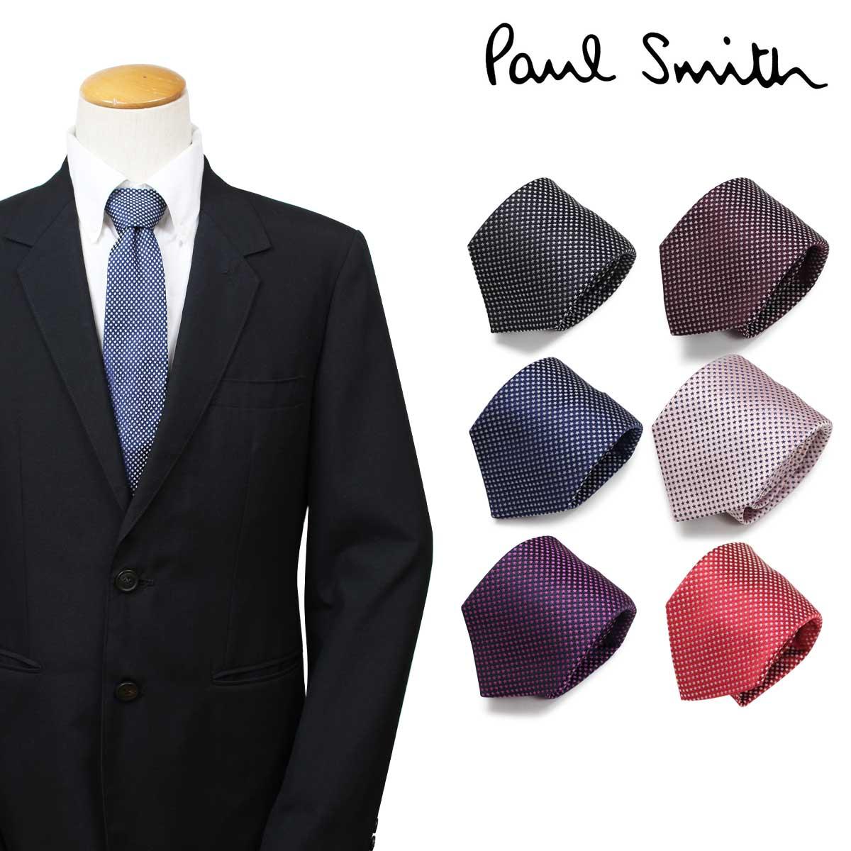 Paul Smith ポールスミス ネクタイ メンズ イタリア製 シルク ビジネス 結婚式 [3/26 追加入荷]