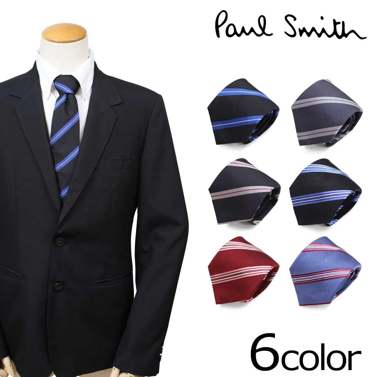 Paul Smith ネクタイ シルク メンズ ポールスミス イタリア製 ビジネス 結婚式 ギフト