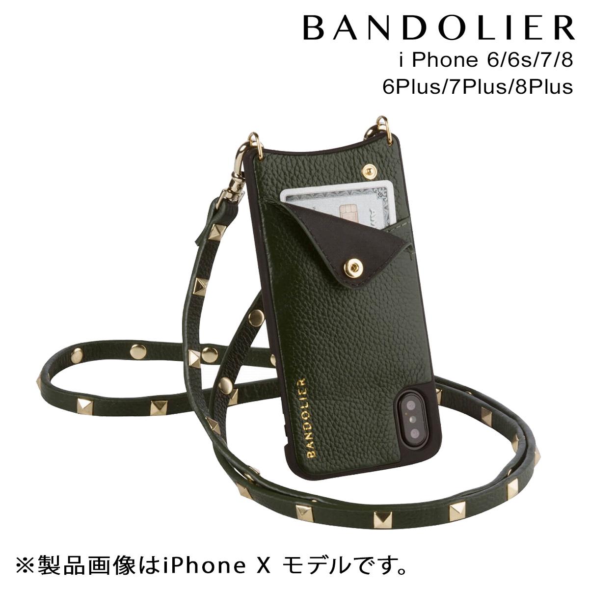 バンドリヤー BANDOLIER iPhone8 iPhone7 7Plus 6s ケース スマホ アイフォン プラス SARAH EVERGREEN メンズ レディース