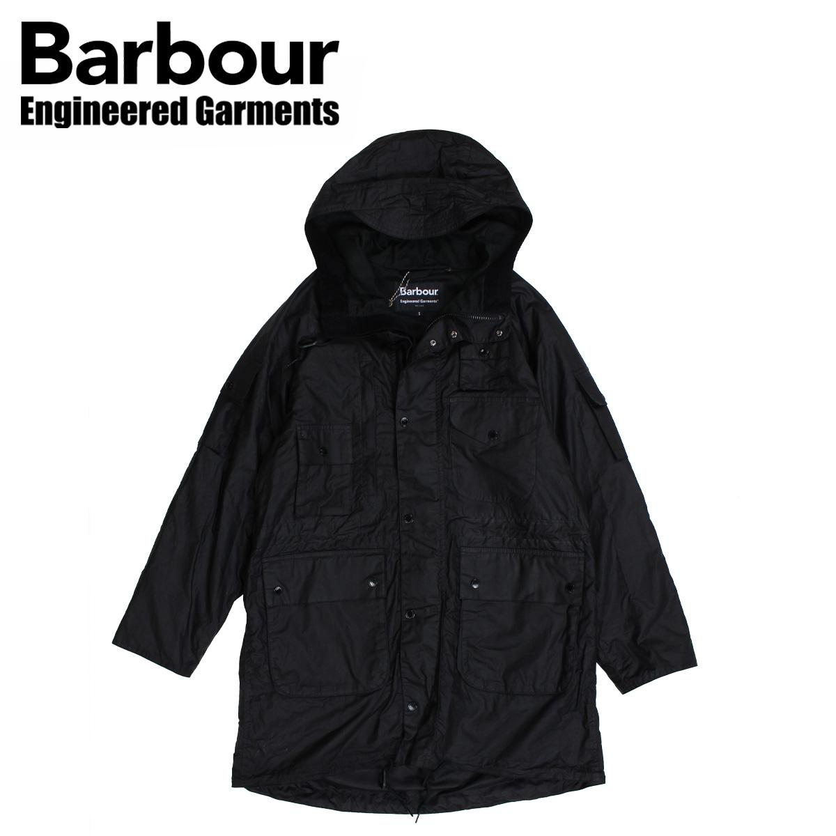 バブアー Barbour ジャケット ワックス メンズ ジップ パーカー ZIP PARKA ブラック 黒 MWX1439