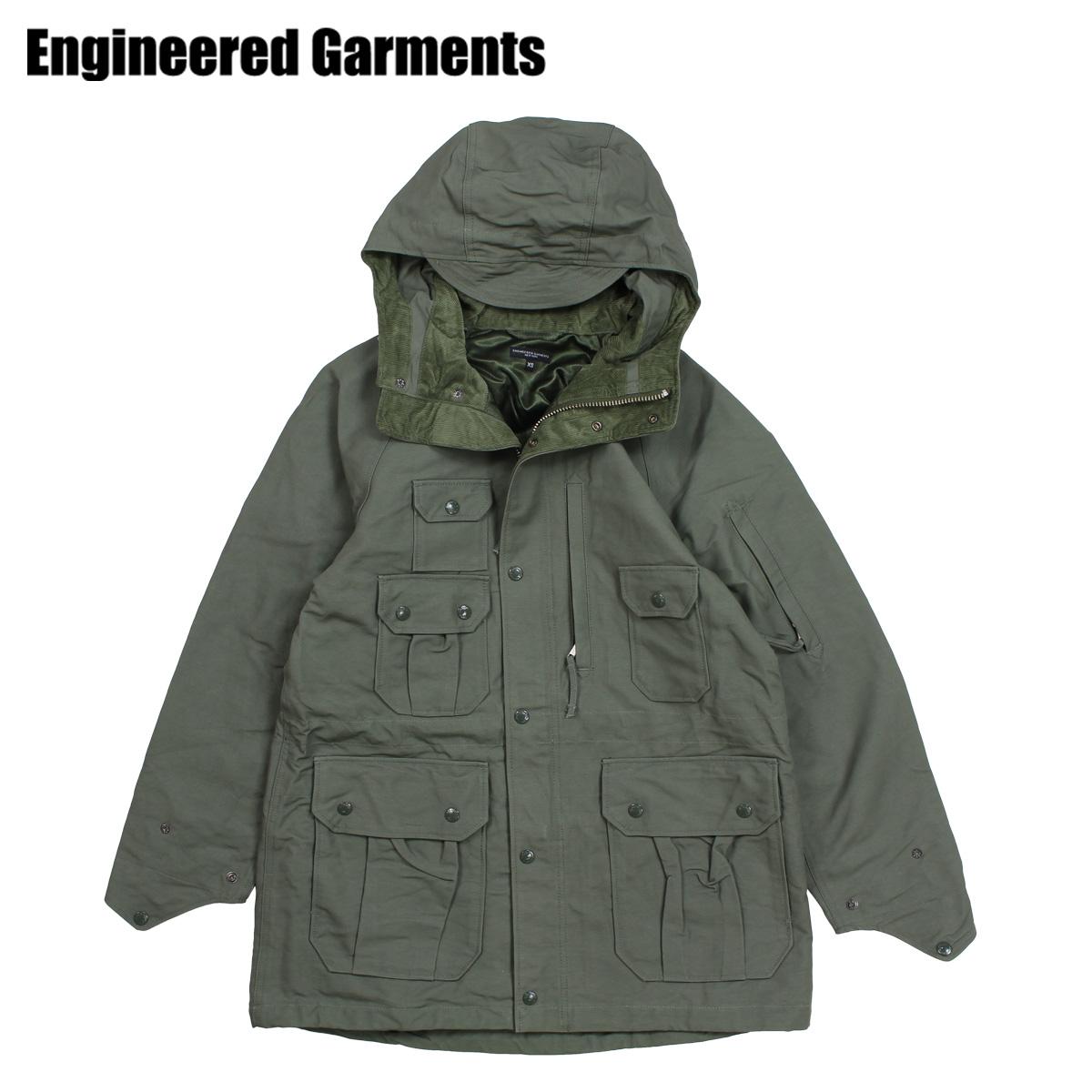ENGINEERED GARMENTS エンジニアドガーメンツ ジャケット メンズ マウンテンパーカー FIELD PARKA オリーブ F8D1280
