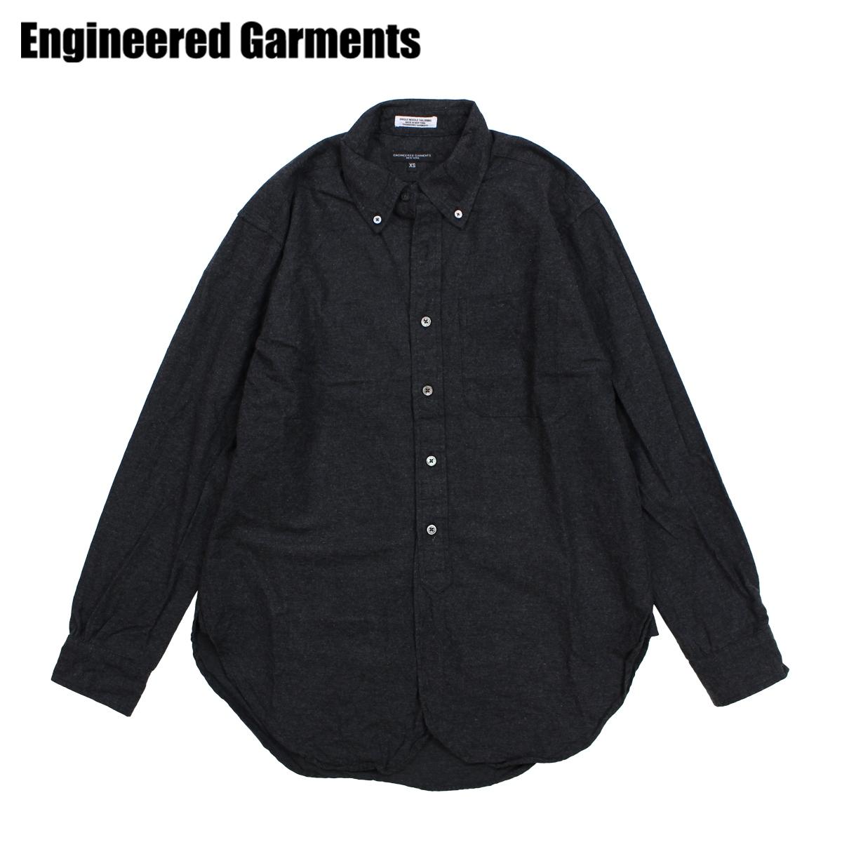ENGINEERED GARMENTS エンジニアドガーメンツ シャツ メンズ 長袖 オックスフォードシャツ 19 CENTURY BUTTON DOWN SHIRT チャコール F8A0139