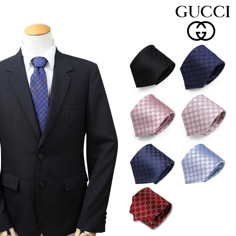 GUCCI グッチ ネクタイ メンズ イタリア製 シルク ビジネス 結婚式 [3/27 追加入荷]