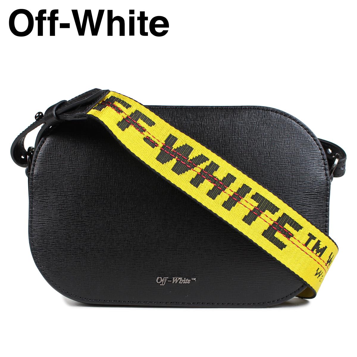 オフホワイト Off-white バッグ ショルダーバッグ レディース SCULPTURE CAMERA STRAP BAG ブラック 黒 OWNA054 423051