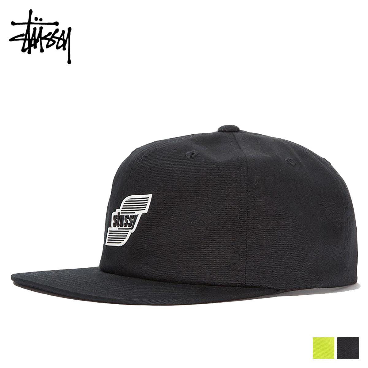 89caa539135 STUSSY ステューシーキャップ hat men snapback 3D MOLDED LOGO STRAPBACK CAP black green  131823  load planned Shinnyu load in reservation product 11 7 ...
