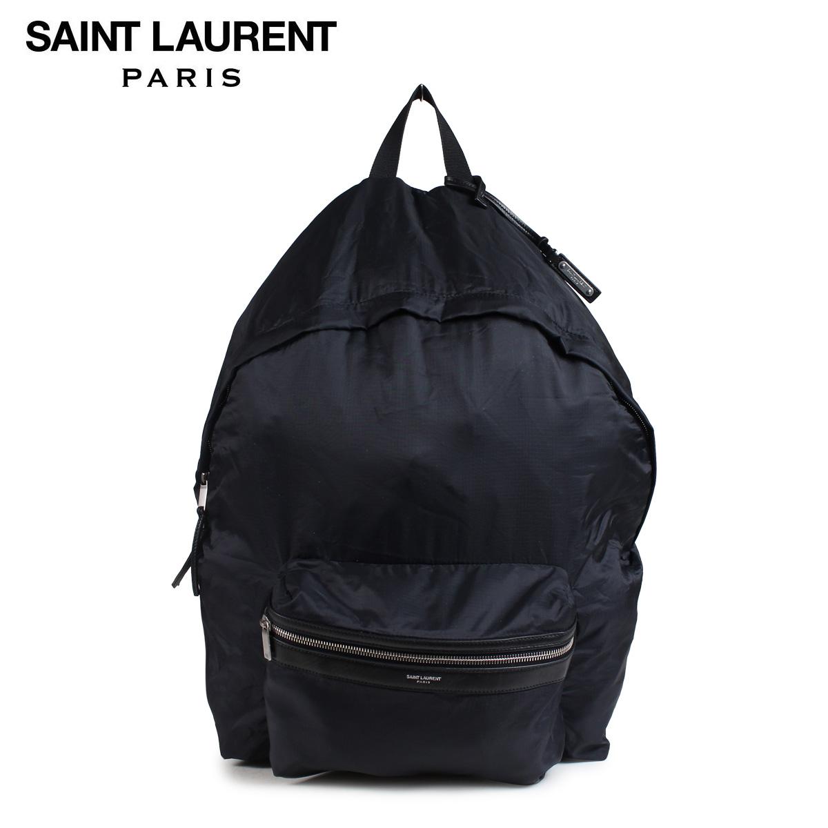 SAINT LAURENT PARIS サンローラン パリ バッグ メンズ レディース バックパック リュック DOUBLE TOP ZIP BACKPACK ブラック 524903 9RP1E