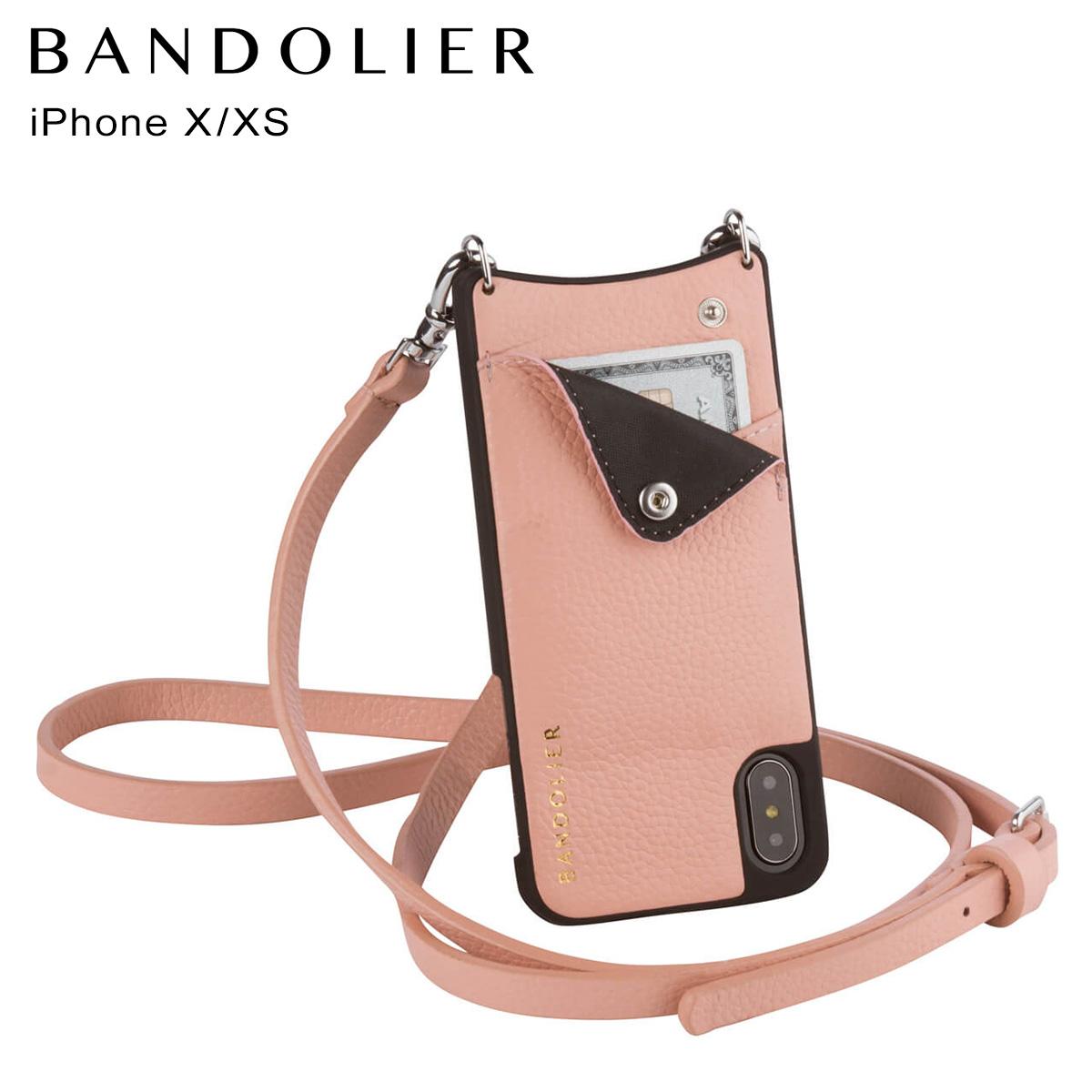 バンドリヤー BANDOLIER iPhoneXS X ケース スマホ アイフォン EMMA BLUSH メンズ レディース