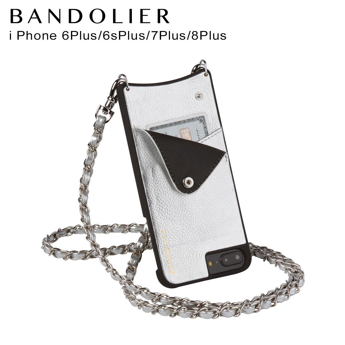 バンドリヤー BANDOLIER iPhone8Plus iPhone7Plus 6sPlus ケース スマホ アイフォン プラス LUCY RICH SILVER メンズ レディース