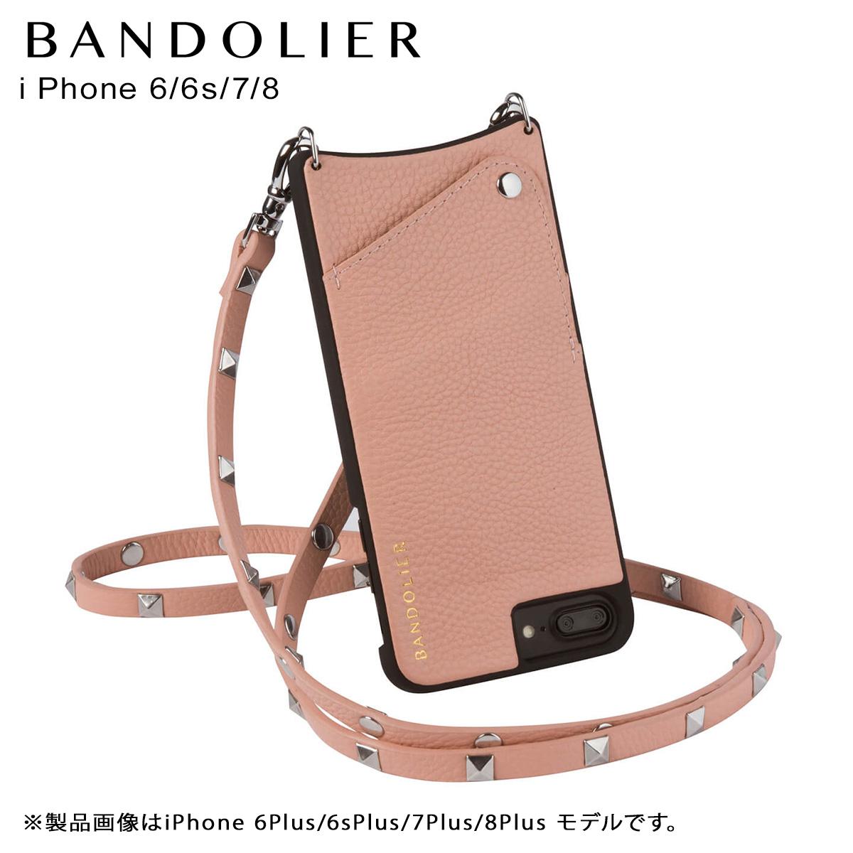 バンドリヤー BANDOLIER iPhone8 iPhone7 6s ケース スマホ アイフォン SARAH BLUSH メンズ レディース