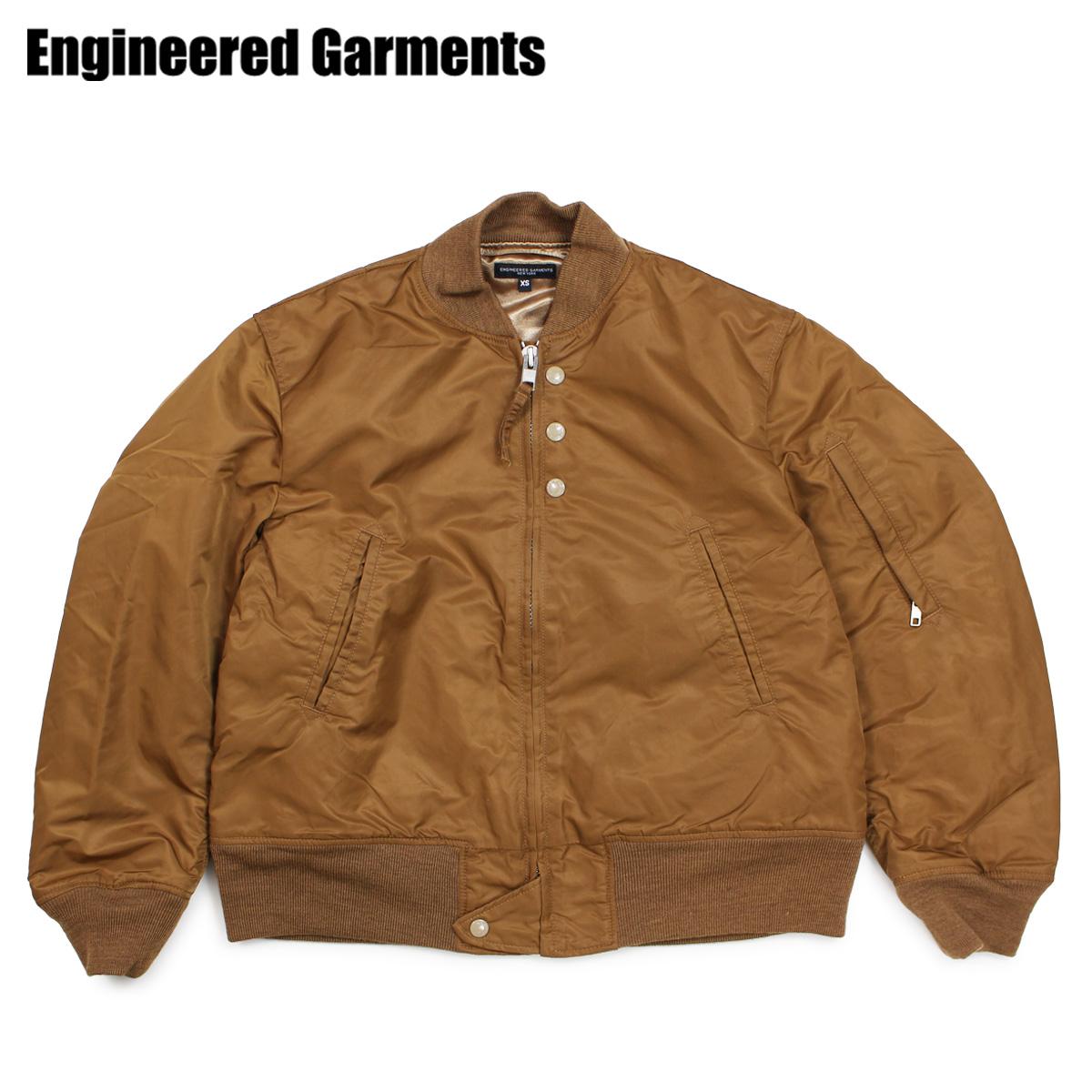 ENGINEERED GARMENTS エンジニアドガーメンツ ジャケット フライトジャケット 中綿 メンズ AVIATOR JACKET カーキ F8D1189