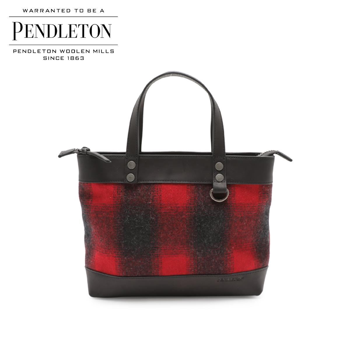 PENDLETON ペンドルトン バッグ トートバッグ ショルダー WOOL BAG WITH STRAP メンズ レディース レッド 赤 GD143