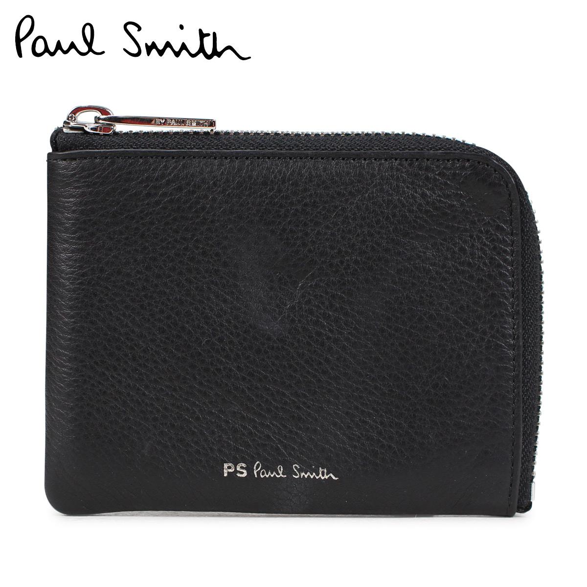 Paul Smith 財布 小銭入れ メンズ ポールスミス WALLET レザー ブラック 黒 M2A 5319 A40052