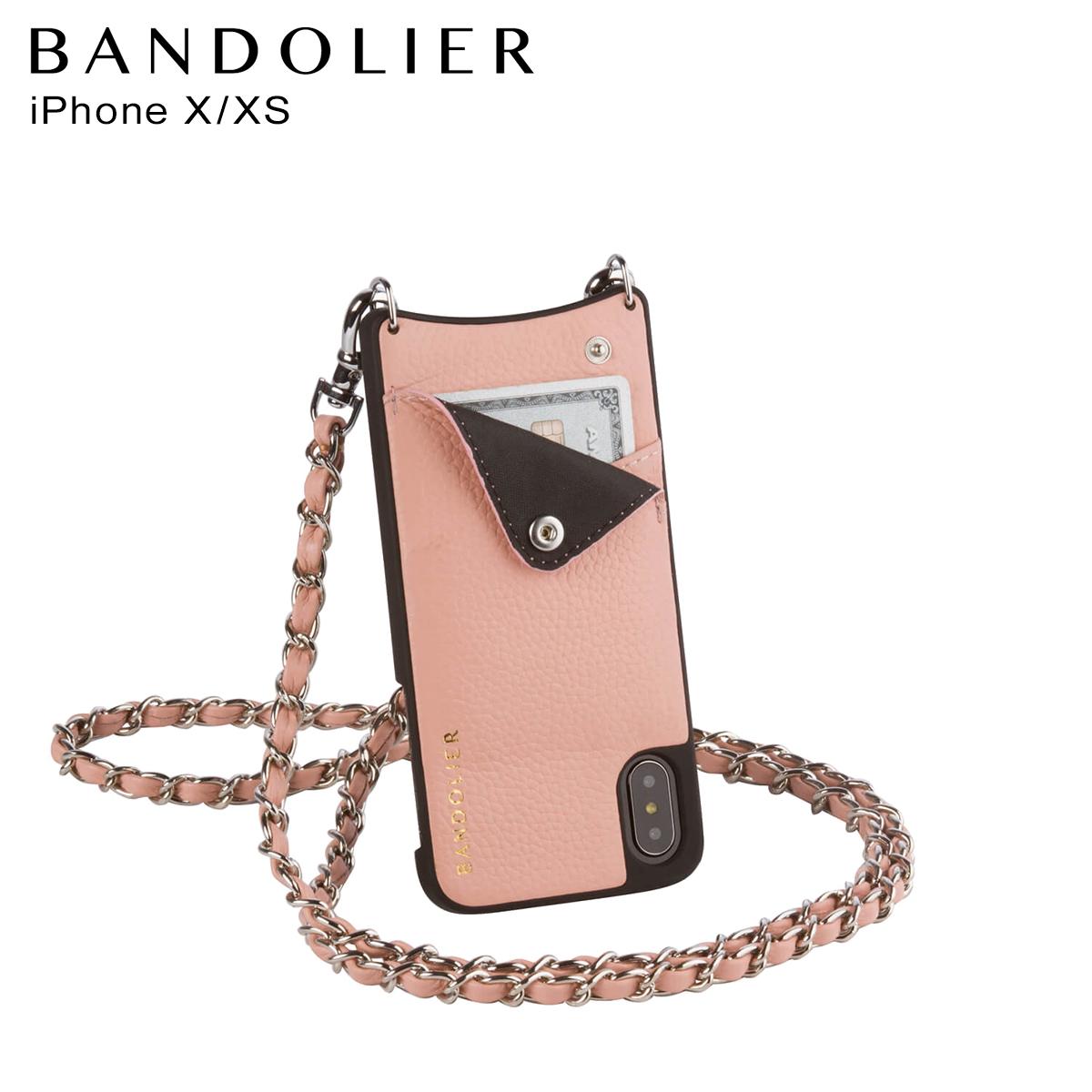 バンドリヤー BANDOLIER iPhoneXS X ケース スマホ アイフォン LUCY BLUSH メンズ レディース