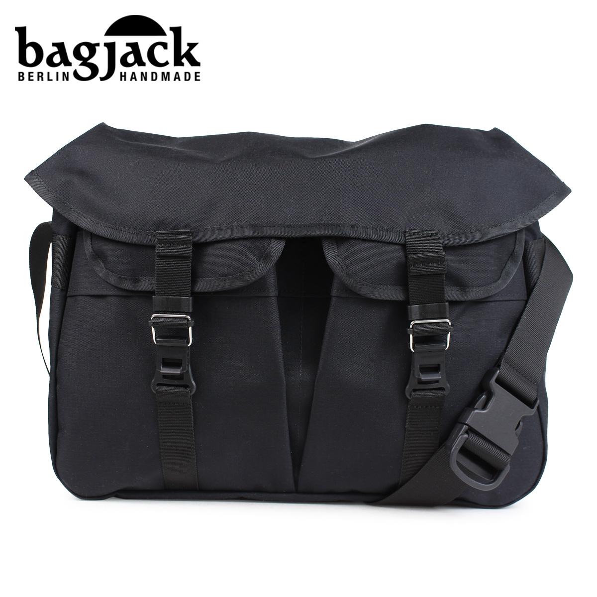 バッグジャック bagjack メッセンジャーバッグ ショルダーバッグ メンズ レディース HNTR BAG ブラック