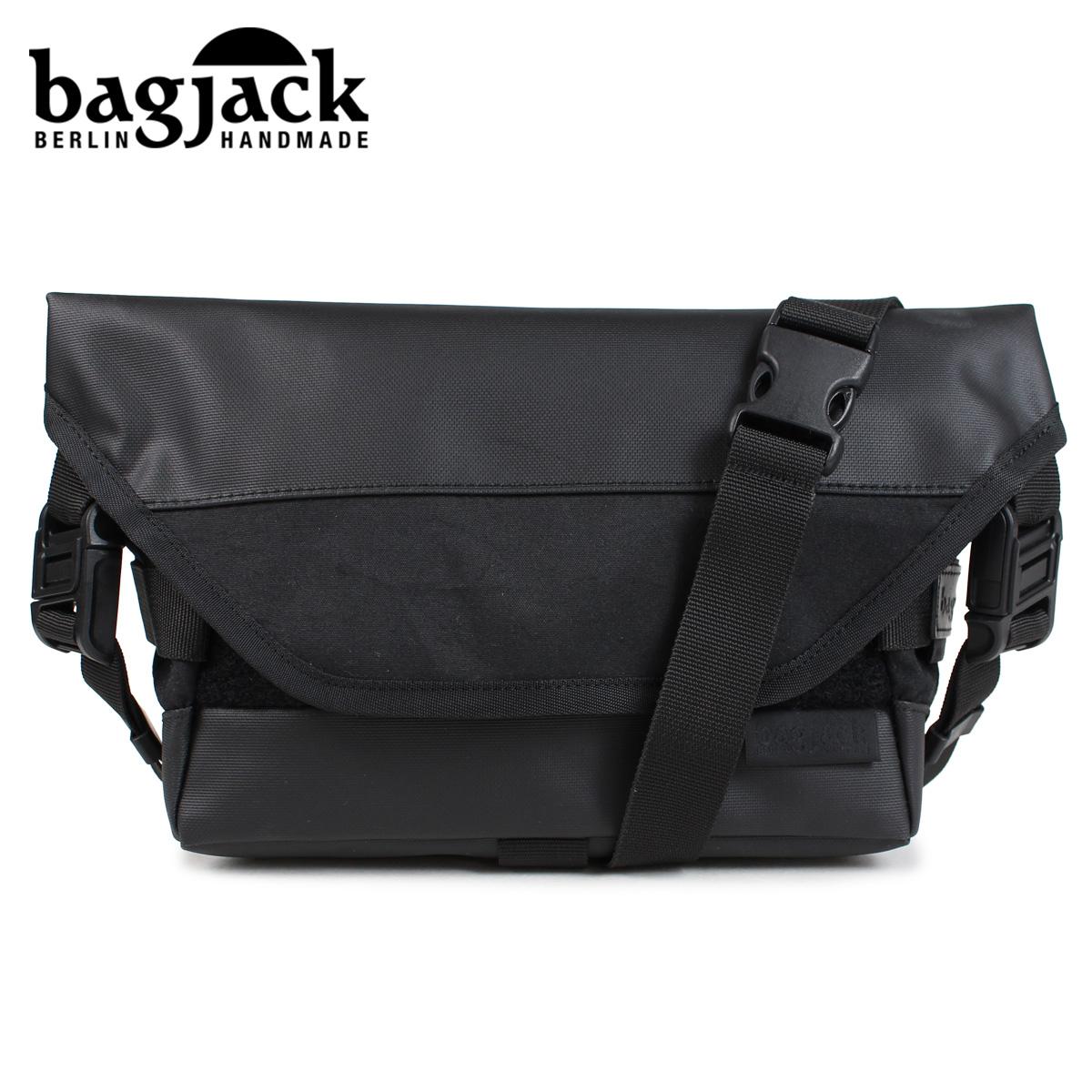 バッグジャック bagjack メッセンジャーバッグ ショルダーバッグ メンズ レディース NEXT LEVEL SPUTNIK ブラック