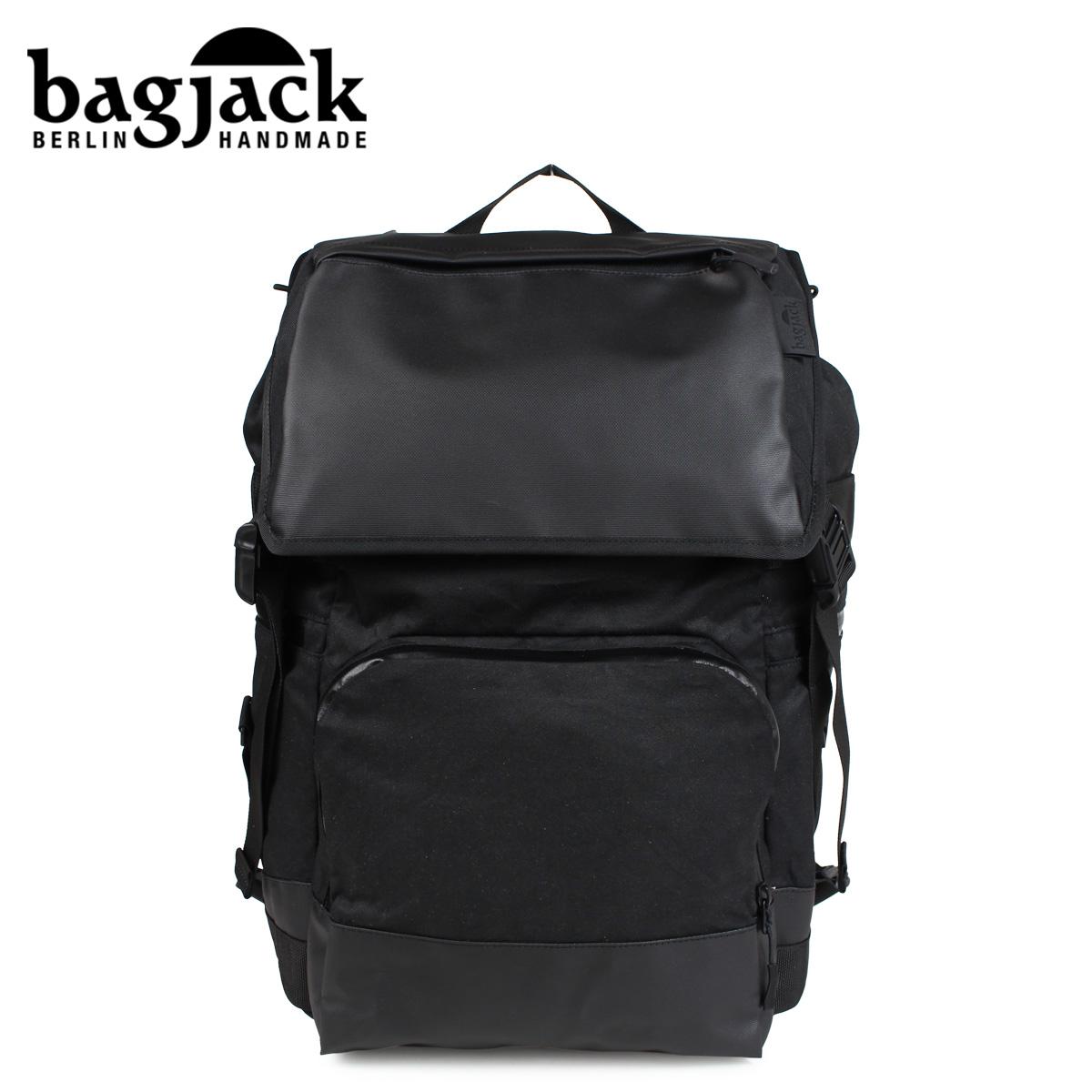 バッグジャック bagjack リュック バックパック メンズ レディース NEXT LEVEL NATURE TEC RUCKSACK ブラック