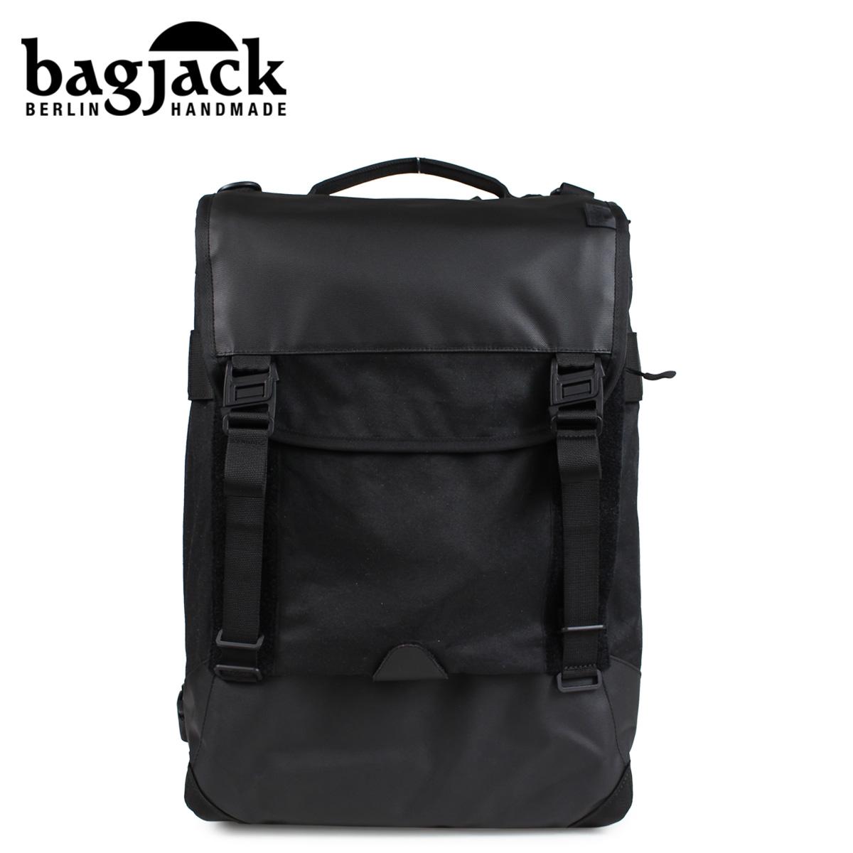 バッグジャック bagjack リュック バックパック メンズ レディース NEXT LEVEL NATURE TEC SKIDCAT ブラック 黒