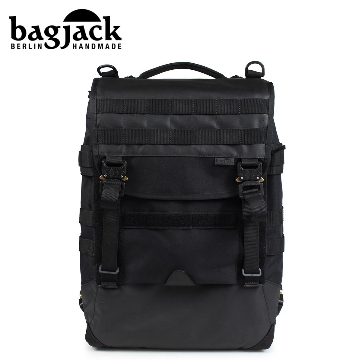 バッグジャック bagjack リュック バックパック メンズ レディース NEXT LEVEL TECH-LINE TCL SKIDCAT ブラック 黒