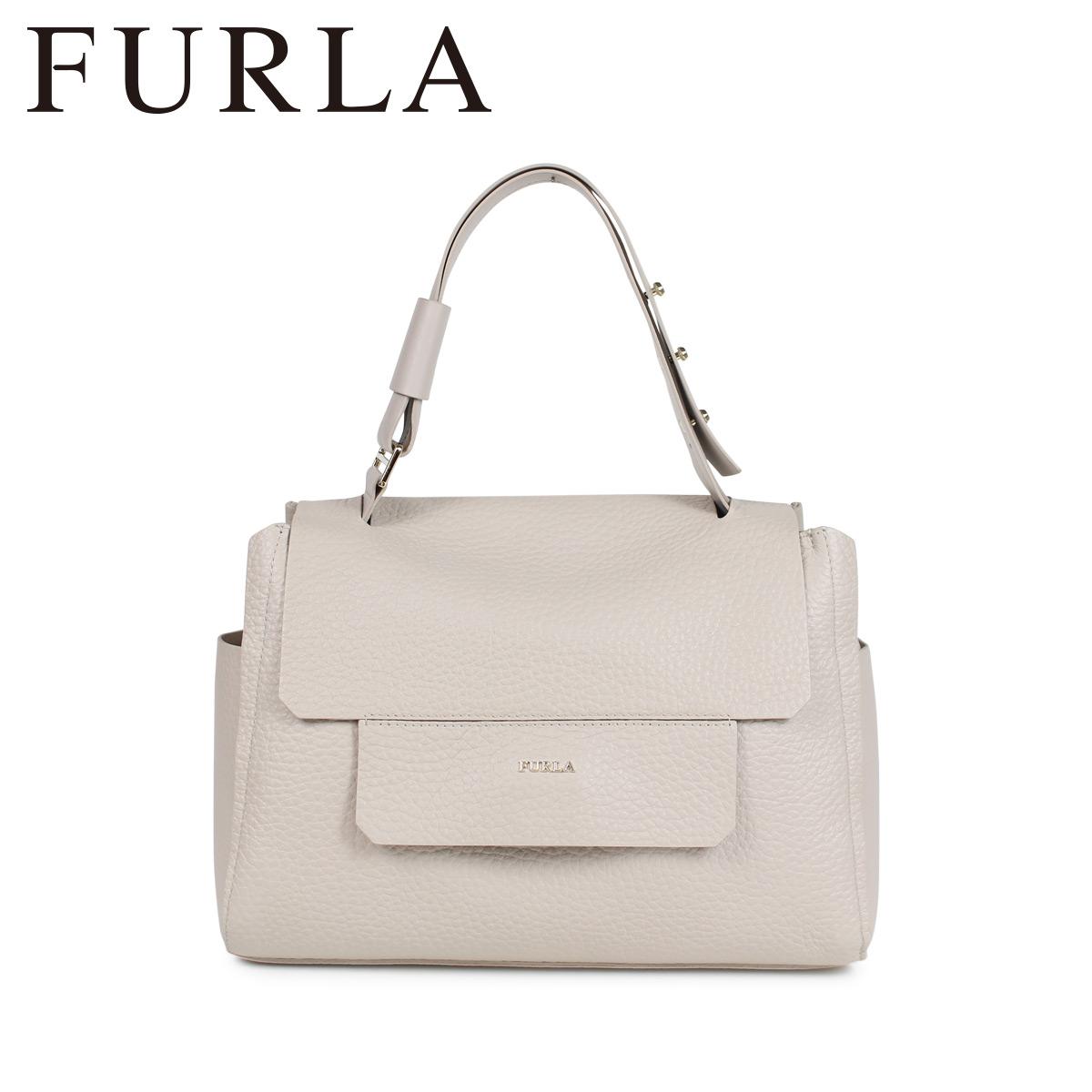 FURLA フルラ バッグ ハンドバッグ レディース CAPRICCIO TOP HANDLE BAG ライトベージュ 920235