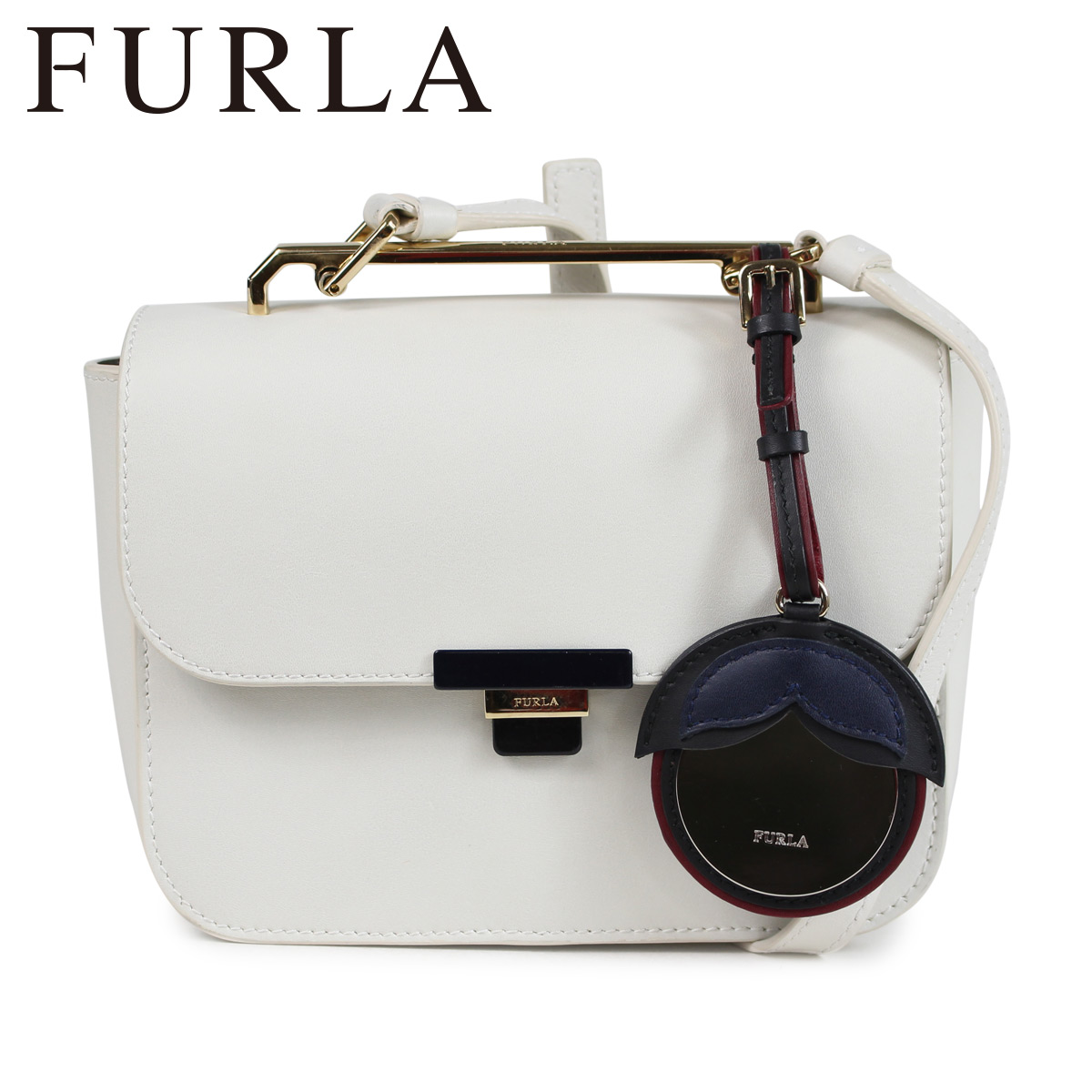 FURLA フルラ バッグ ショルダーバッグ レディース ELISIR MINI CROSS BODY BAG ホワイト 920940
