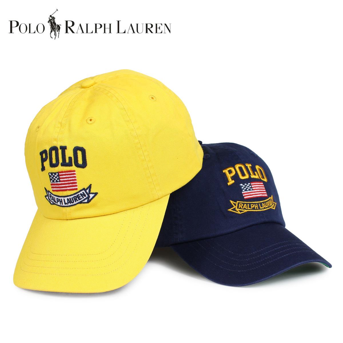 376a9c8d3c0 POLO RALPH LAUREN polo Ralph Lauren cap hat baseball cap men navy yellow  710706148  12 20 Shinnyu load