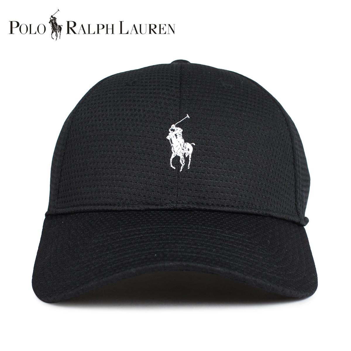 lowest price ff3bb 5f728 POLO RALPH LAUREN polo Ralph Lauren cap hat baseball cap men mesh black  black 710706148