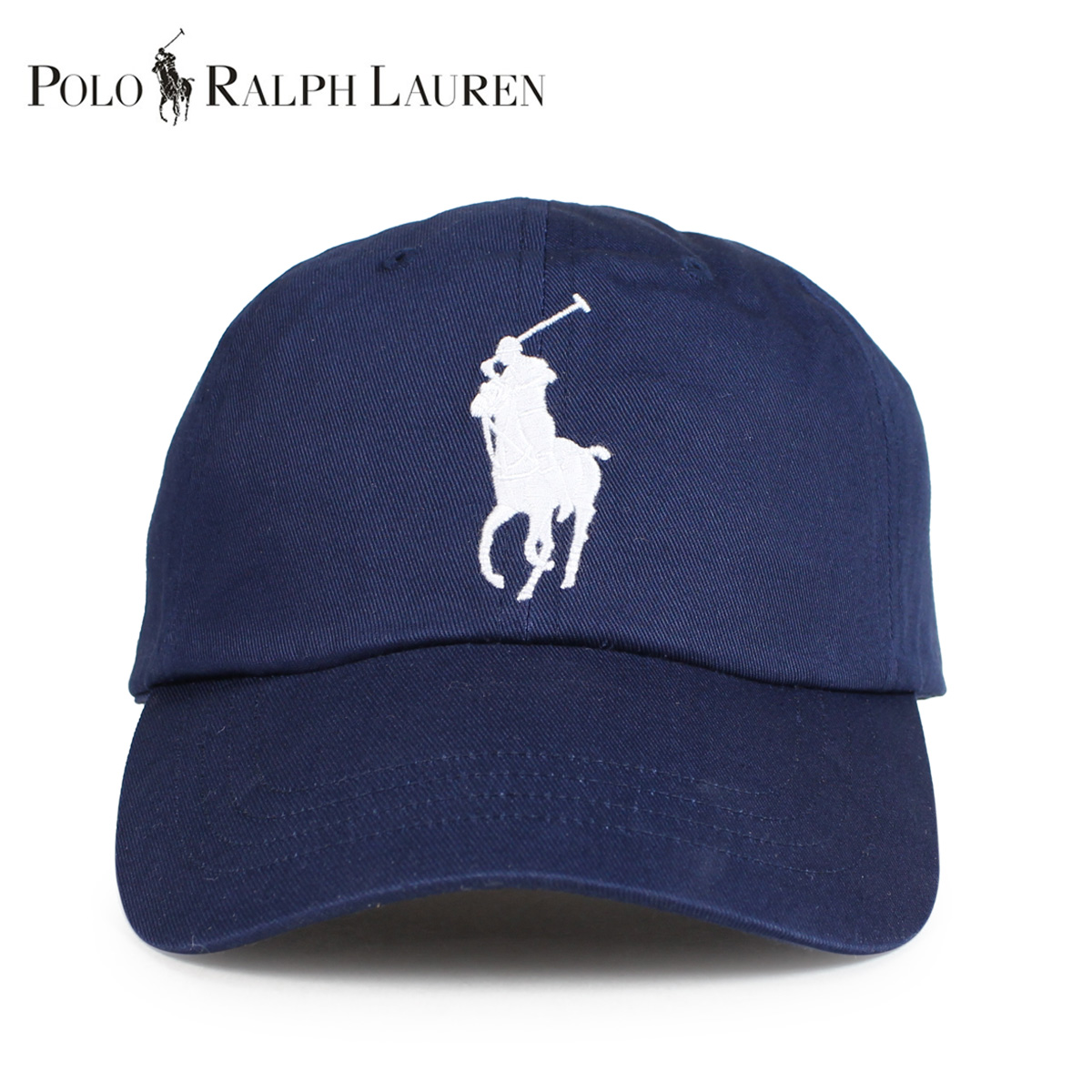 40b31b5bf805b POLO RALPH LAUREN polo Ralph Lauren cap hat men gap Dis cotton BIG PONY  CHINO BASEBALL CAP navy 710673584013  1 15 Shinnyu load