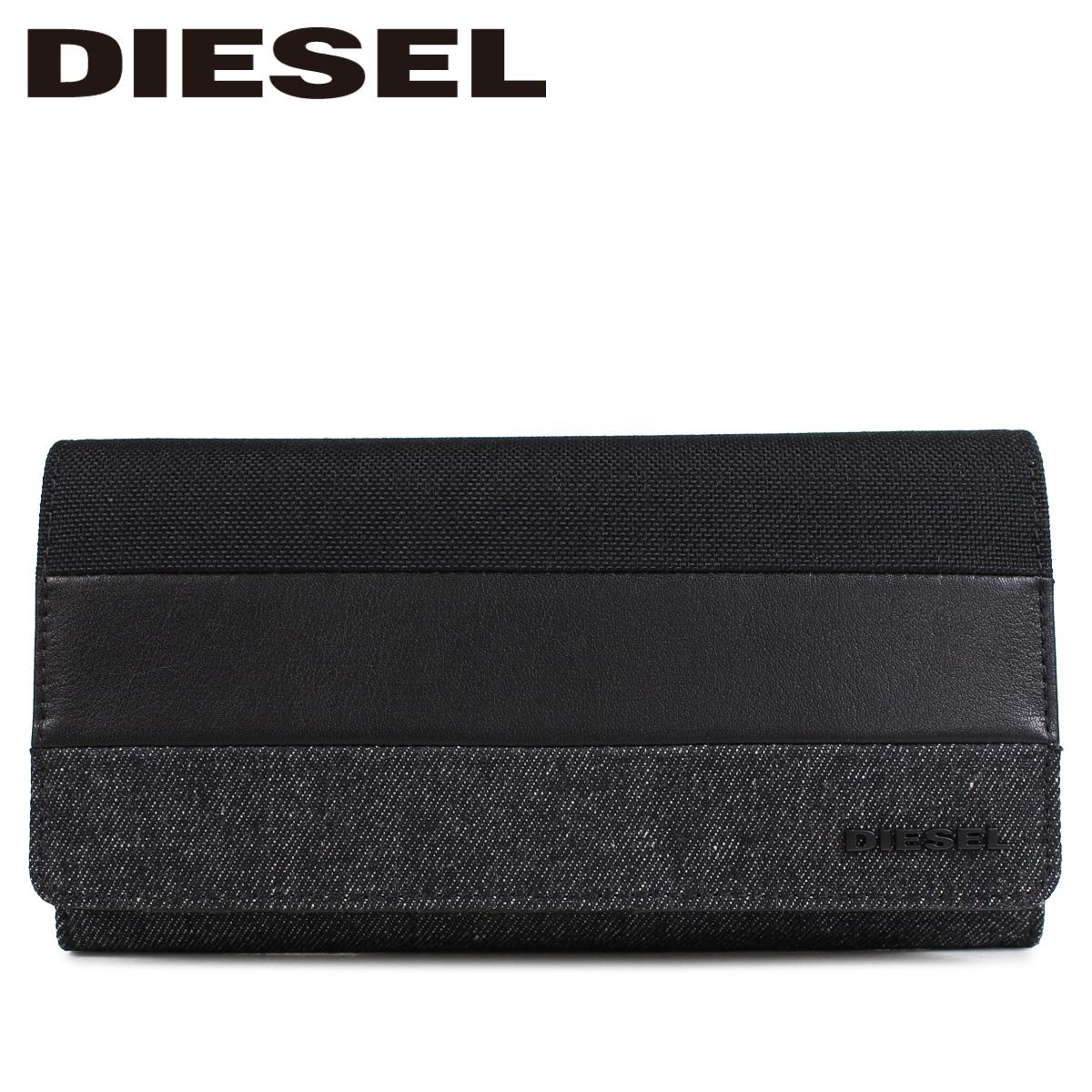DIESEL ディーゼル 財布 長財布 メンズ 二つ折り METROPOLETY 24 A DAY グレー X05802 P1830