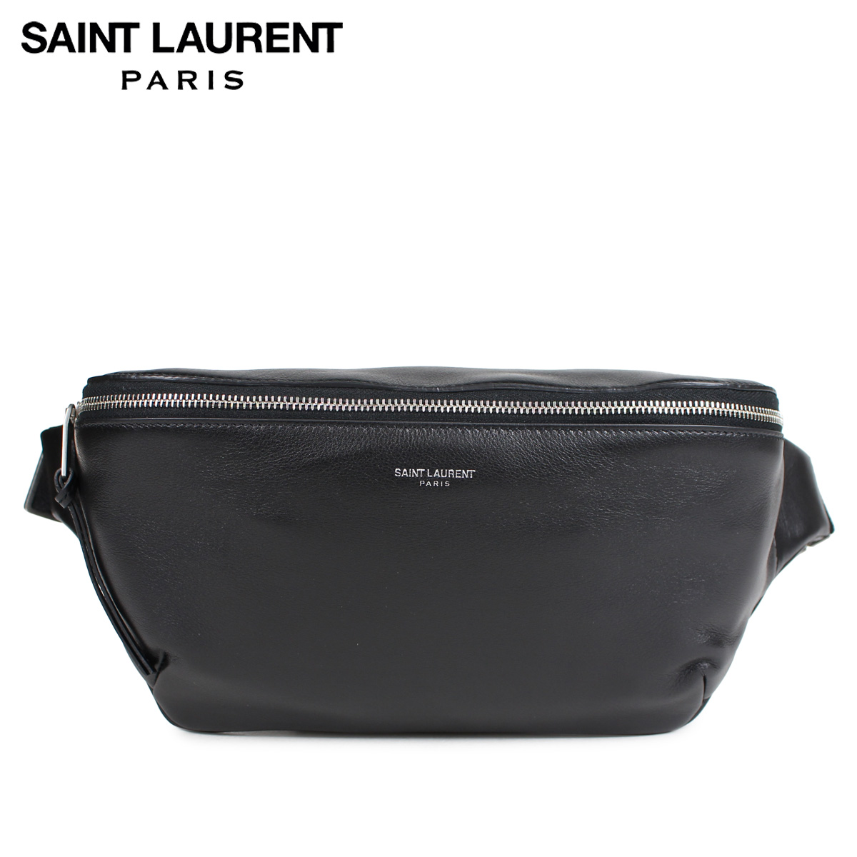 SAINT LAURENT PARIS サンローラン パリ ボディバッグ ベルトバッグ メンズ レディース BODY BAG ブラック 505671 0X52E
