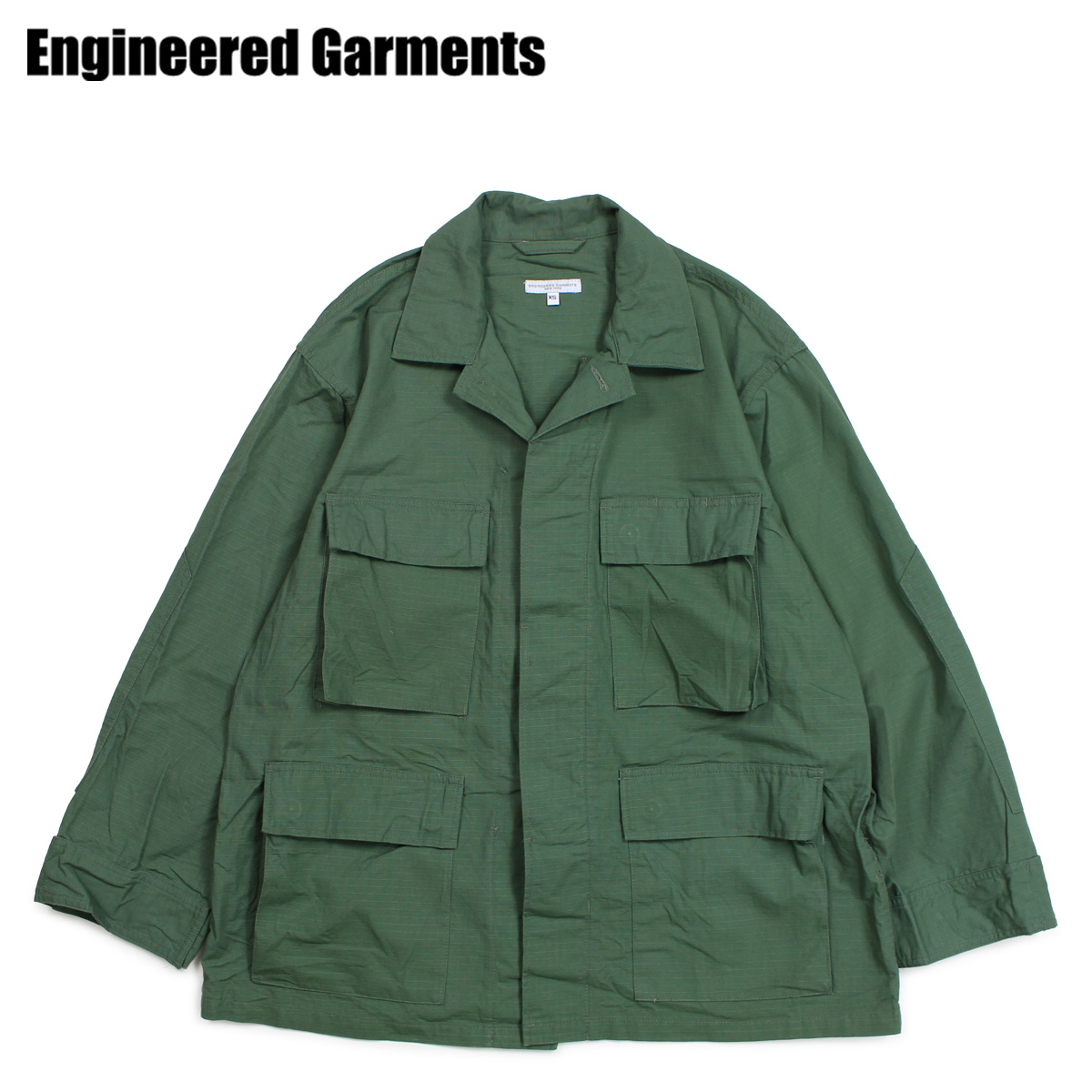 ENGINEERED GARMENTS エンジニアドガーメンツ ジャケット ミリタリージャケット メンズ BDU JACKET オリーブ 19SD002 [3/28 新入荷]