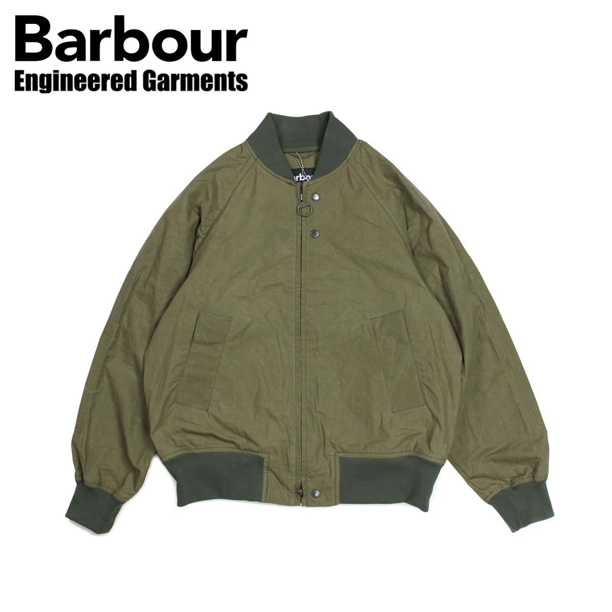 Barbour バブアー エンジニアドガーメンツ ENGINEERED GARMENTS ジャケット ボンバージャケット メンズ アービングジャケット IRVING JACKET コラボ カーキ MCA0598GN31