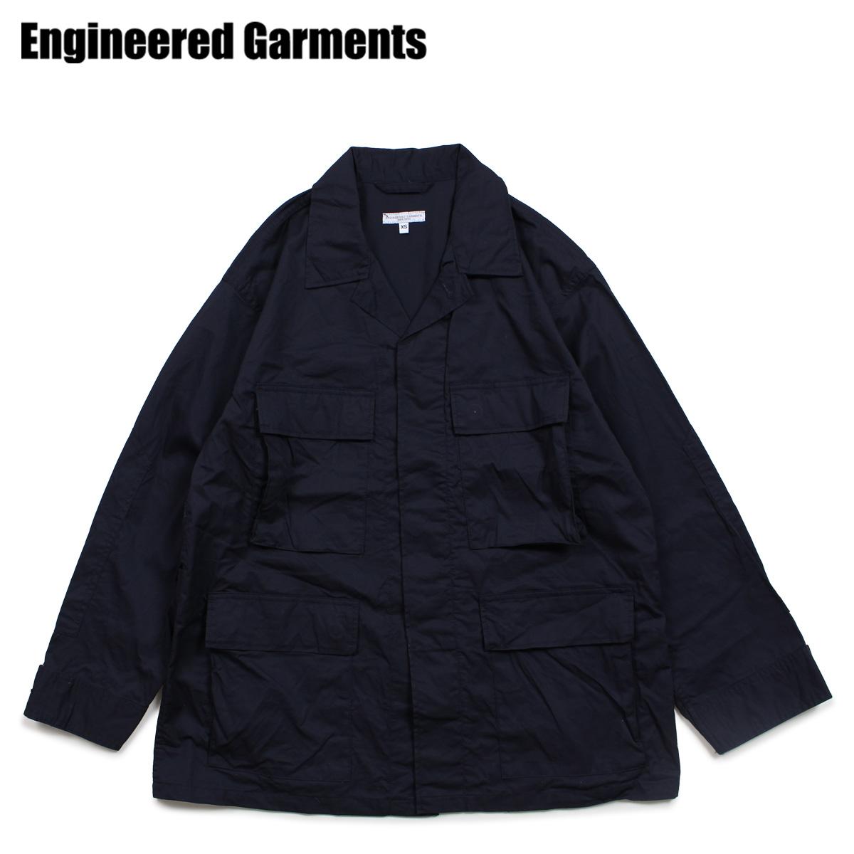 ENGINEERED GARMENTS エンジニアドガーメンツ ジャケット ミリタリージャケット メンズ BDU JACKET ダーク ネイビー 19SD002NV