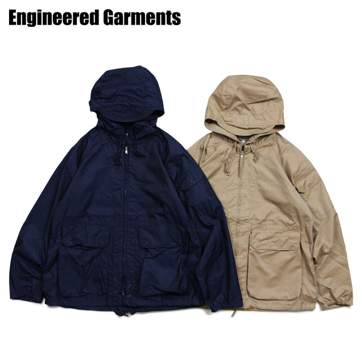 ENGINEERED GARMENTS エンジニアドガーメンツ ジャケット マウンテンパーカー メンズ ATLANTIC PARKA ネイビー カーキ 19SD010